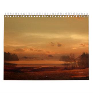 Calendar-Landscape Artworks