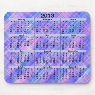 Calendar_Lines 2013 Mousepad Alfombrillas De Ratón