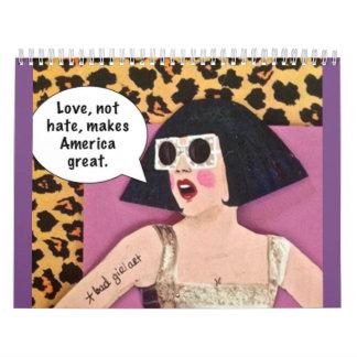 Calendar-love,not hate, makes calendar