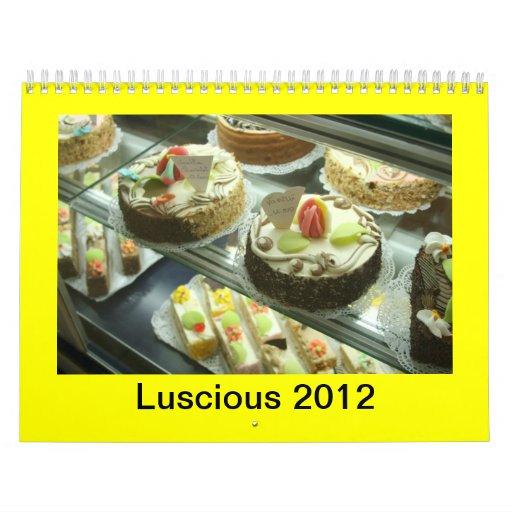 Calendar, LUSCIOUS 2012