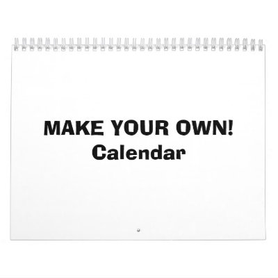 Create your own pattern free patterns for Make my own calendar template