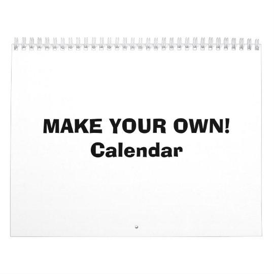 Calendar Make Your Own