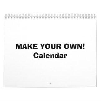 CALENDAR - MAKE YOUR OWN!