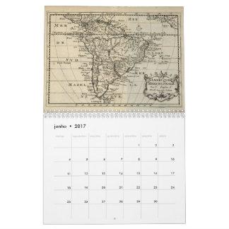 Calendar: Maps of Brazil Calendar