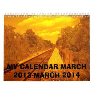 CALENDAR -March 2013-March 2014.