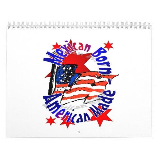 calendar, Mexican American Calendar