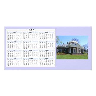 Calendar Monticello Photo Card