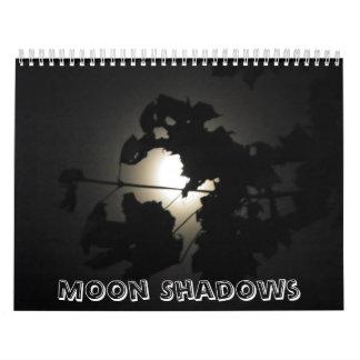 Calendar~ Moon shadows