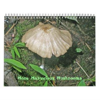 Calendar - More Marvelous Mushrooms