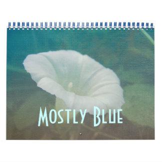 Calendar - Mostly Blue