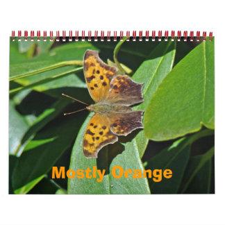 Calendar - Mostly Orange