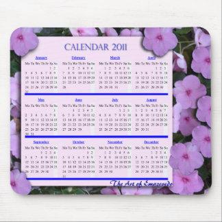 Calendar /mousepad mouse pad