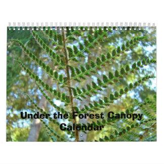 Calendar Nature Under the Forest Canopy Calendars