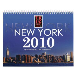 Calendar - NEW YORK