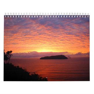 Calendar New Zealand Coast
