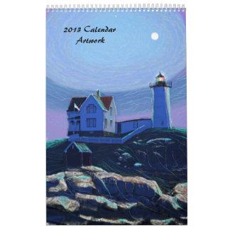 Calendar of Art 2013