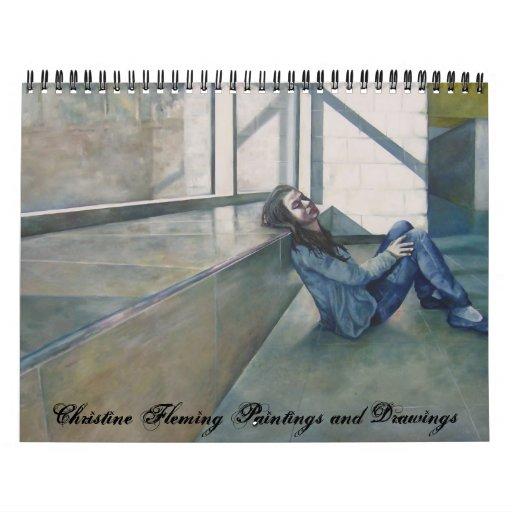Calendar of artwork