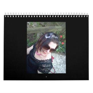 Calendar of Fascinators by Random Jane