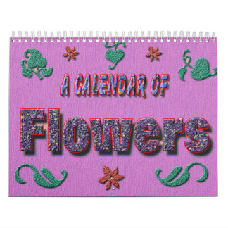 Calendar of flowers