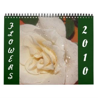 Calendar of Flowers 2010