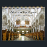 """Calendar of Pipe Organs and where they live<br><div class=""""desc"""">A calendar of pipe organs, showing stunning photos of not only the main facades of some of the world&#39;s loveliest instruments, but the cathedrals and halls where they are housed, and other details around them - and often the console. Shots include the following organs: Chester Cathedral, Holmer Parish Church, Ludlow...</div>"""