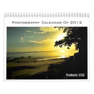 Calendar Of Thailand Photography 2012