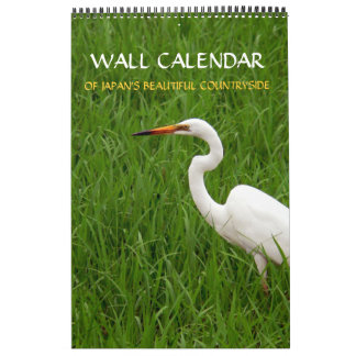 Calendar of the Japanese Countryside