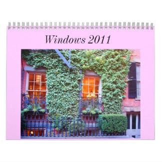 Calendar of Windows 2011