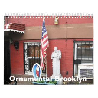 Calendar: Ornamental Brooklyn Calendar