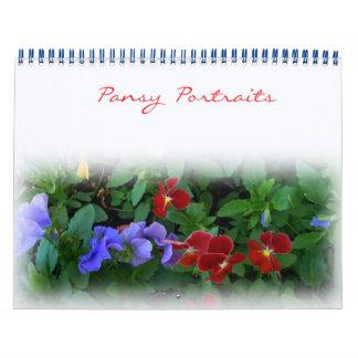 Calendar - Pansy Portrait