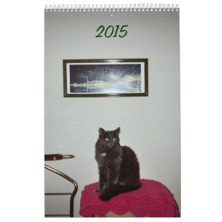 Calendar --- Pearl the Cat --- 2015