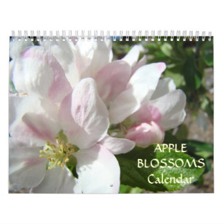 CALENDAR PINK TREE Apple BLOSSOMS Spring
