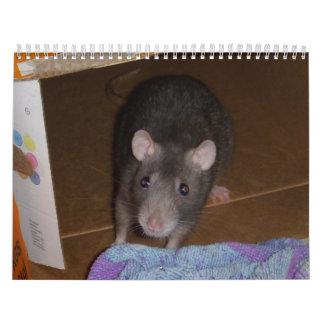Calendar Rat Mouse Love