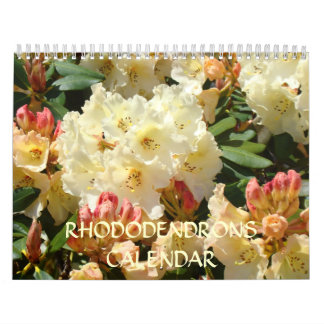 CALENDAR Rhododendrons Rhodies OFFICE GIFTS