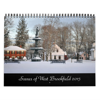 Calendar Scenes of West Brookfield 2015
