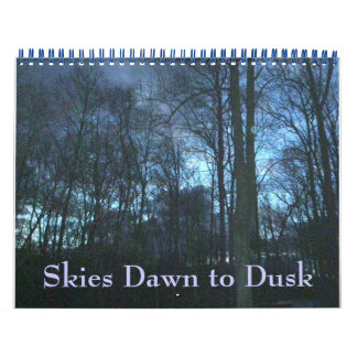 Calendar - Skies Dawn to Dusk