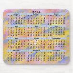 Calendar_Sparks 2014 y nubes Alfombrillas De Raton