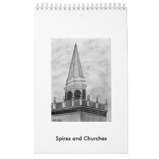 Calendar Spires and Churches