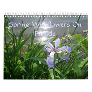 Calendar - Spring Wildflowers On Parade