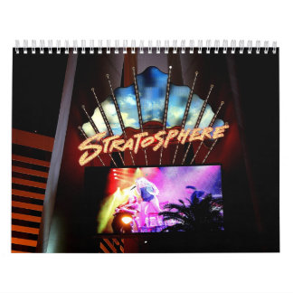 Calendar - Stratosphere Las Vegas Nightscape