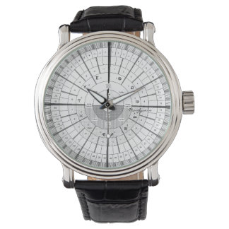 Calendar Time Wristwatch