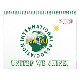CALEnDAR United We Shine!, 2010