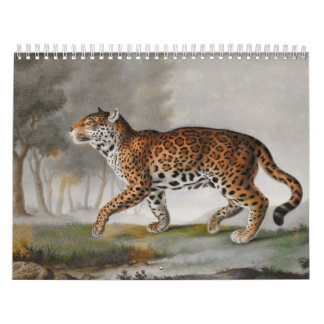 Calendar-Vintage Animals