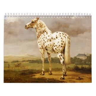 Calendar-Vintage Horses