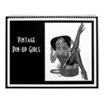 Calendar Vintage Pin-up Girls 14 Images Feb-Jan