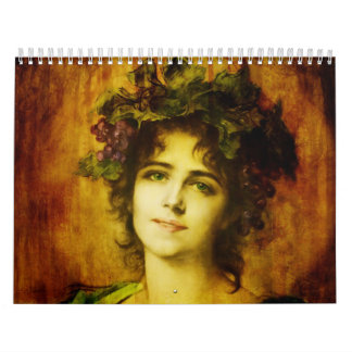 Calendar-Vintage Portraits Calendar