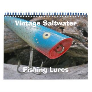 Calendar Vintage Saltwater Fishing Plugs