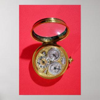 Calendar watch, c.1690 poster