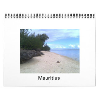 Calendar With Beach Theme