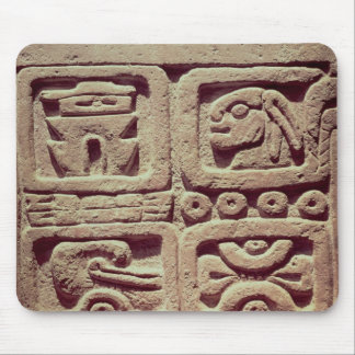 Calendar with four glyphs, Toltec Mouse Pad
